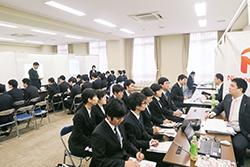 学内合同業界研究会